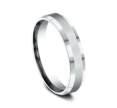 5MM ARGENTIUM SILVER COMFORT FIT BAND CF65416SV 1 - 5MM ARGENTIUM SILVER COMFORT-FIT BAND CF65416SV