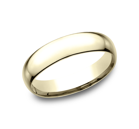 5MM YELLOW GOLD BAND SLCF150Y - 5MM YELLOW GOLD BAND SLCF150Y