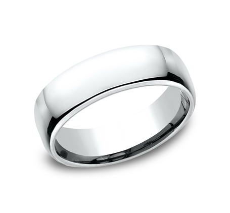 6.5MM CLASSY AND ELEGANT BAND EUCF165W - 6.5MM CLASSY AND ELEGANT BAND EUCF165W