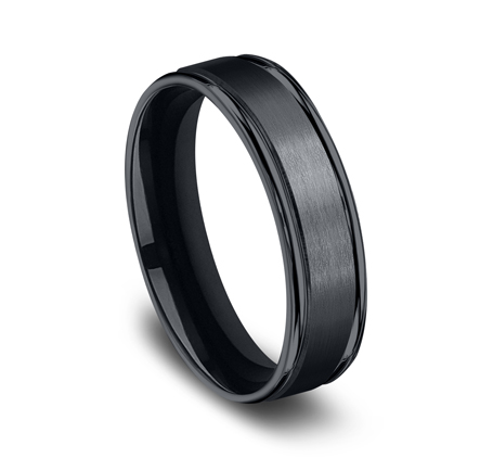 6MM CERAMIC COMFORT FIT SATIN FINISHED BAND RECF7602SCM 1 - 6MM CERAMIC COMFORT-FIT SATIN-FINISHED BAND RECF7602SCM