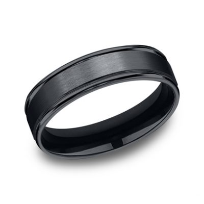 6MM CERAMIC COMFORT FIT SATIN FINISHED BAND RECF7602SCM 400x400 - 6MM CERAMIC COMFORT-FIT SATIN-FINISHED BAND RECF7602SCM