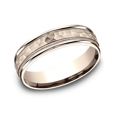 6MM COMFORT FIT CARVED DESIGN BAND CF156309R 400x400 - 6MM COMFORT-FIT CARVED DESIGN BAND CF156309R