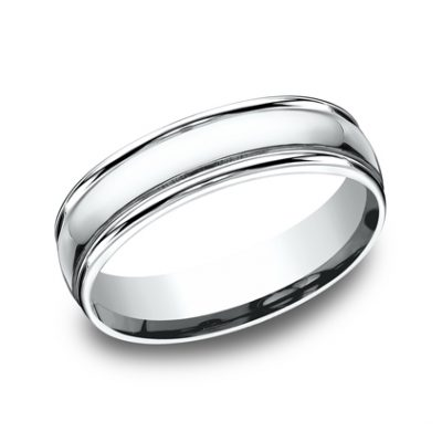 6MM COMFORT FIT HIGH POLISHED CARVED DESIGN BAND CF15608W 400x400 - 6MM COMFORT-FIT HIGH POLISHED CARVED DESIGN BAND CF15608W