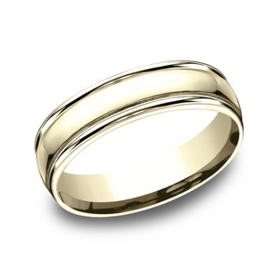 6MM COMFORT FIT HIGH POLISHED CARVED DESIGN BAND CF15608Y 400x400 - 6MM COMFORT-FIT HIGH POLISHED CARVED DESIGN BAND CF15608Y