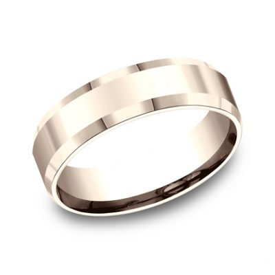 6MM COMFORT FIT HIGH POLISHED CARVED DESIGN BAND CF66426R 400x400 - 6MM COMFORT-FIT HIGH POLISHED CARVED DESIGN BAND CF66426R