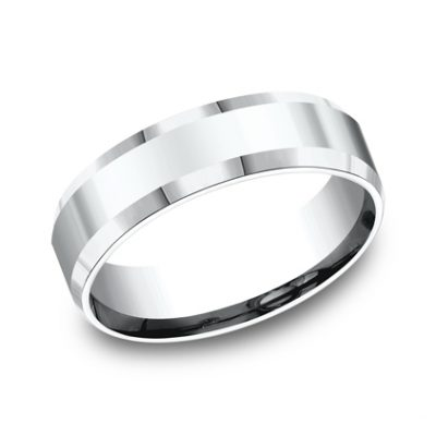 6MM COMFORT FIT HIGH POLISHED CARVED DESIGN BAND CF66426W 400x400 - 6MM COMFORT-FIT HIGH POLISHED CARVED DESIGN BAND CF66426W