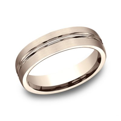 6MM COMFORT FIT SATIN FINISHED CARVED DESIGN BAND CF56411R 400x400 - 6MM COMFORT-FIT SATIN-FINISHED CARVED DESIGN BAND CF56411R