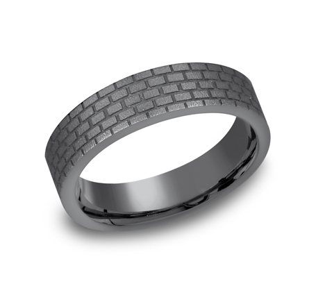 6MM GREY TANTALUM DESIGN BAND CF66331TA - 6MM GREY TANTALUM DESIGN BAND CF66331TA
