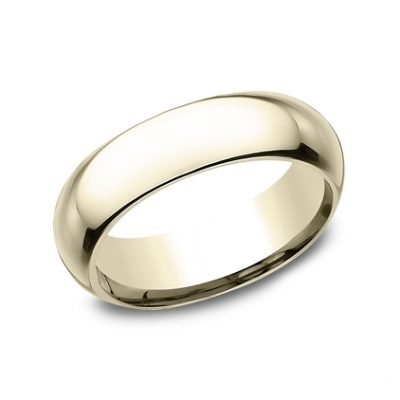 6MM YELLOW GOLD BAND HDCF160Y 400x400 - 6MM YELLOW GOLD BAND HDCF160Y