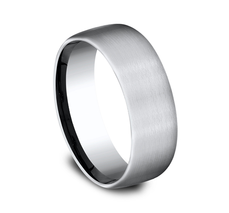 7.5MM COMFORT FIT COBALT BAND CF717561CC 1 - 7.5MM COMFORT-FIT COBALT BAND CF717561CC