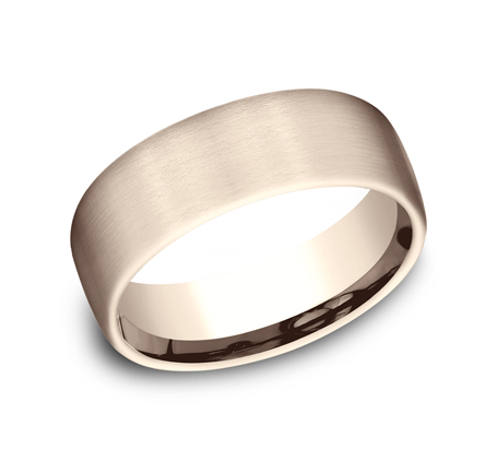 7.5MM COMFORT FIT SATIN FINISHED BAND CF717561R - 7.5MM COMFORT-FIT SATIN FINISHED BAND CF717561R