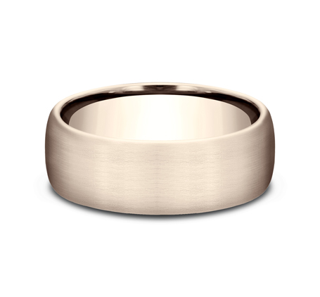7.5MM COMFORT FIT SATIN FINISHED BAND CF717561R2 - 7.5MM COMFORT-FIT SATIN FINISHED BAND CF717561R