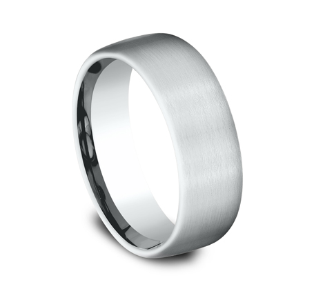 7.5MM COMFORT FIT SATIN FINISHED BAND CF717561W 1 - 7.5MM COMFORT-FIT SATIN FINISHED BAND CF717561W