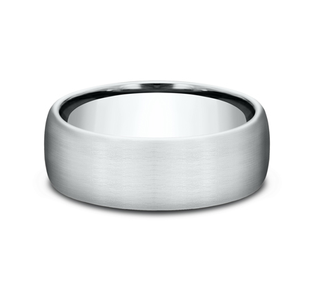 7.5MM COMFORT FIT SATIN FINISHED BAND CF717561W 2 - 7.5MM COMFORT-FIT SATIN FINISHED BAND CF717561W