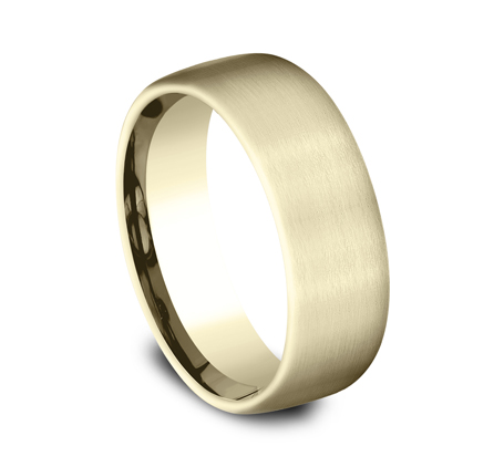 7.5MM COMFORT FIT SATIN FINISHED BAND CF717561Y 1 - 7.5MM COMFORT-FIT SATIN FINISHED BAND CF717561Y