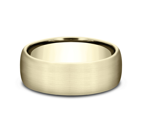 7.5MM COMFORT FIT SATIN FINISHED BAND CF717561Y 2 - 7.5MM COMFORT-FIT SATIN FINISHED BAND CF717561Y