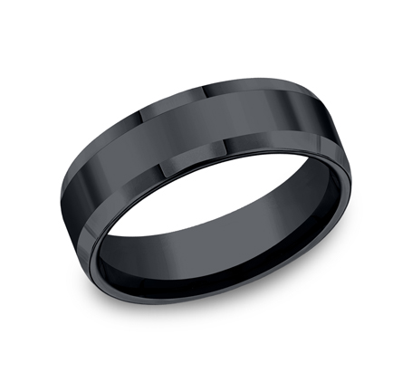 7MM CERAMIC COMFORT FIT HIGH POLISHED BAND CF67426CM - 7MM CERAMIC COMFORT-FIT HIGH POLISHED BAND CF67426CM
