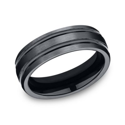 7MM CERAMIC COMFORT FIT SATIN FINISHED BAND CF57444CM 400x400 - 7MM CERAMIC COMFORT-FIT SATIN-FINISHED BAND CF57444CM