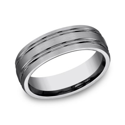 7MM COMFORT FIT TUNGSTEN BAND CF57444TG 400x400 - 7MM COMFORT-FIT TUNGSTEN BAND CF57444TG