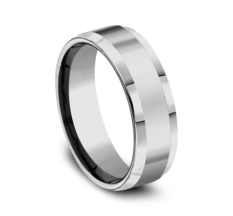 7MM COMFORT FIT TUNGSTEN BAND CF67426TG 1 - 7MM COMFORT-FIT TUNGSTEN BAND CF67426TG