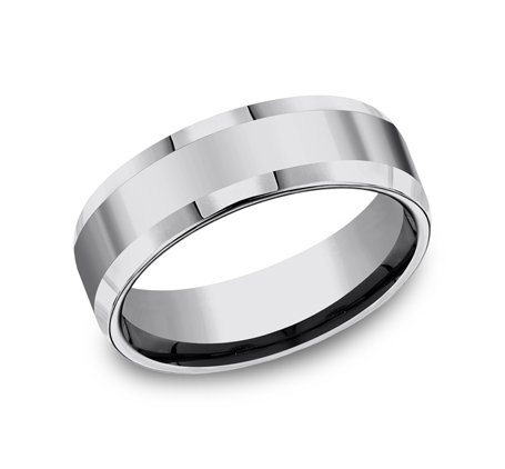 7MM COMFORT FIT TUNGSTEN BAND CF67426TG - 7MM COMFORT-FIT TUNGSTEN BAND CF67426TG