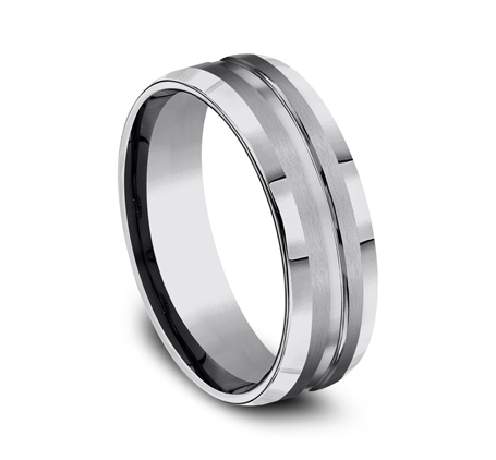 7MM COMFORT FIT TUNGSTEN BAND CF67439TG 2 - 7MM COMFORT-FIT TUNGSTEN BAND CF67439TG