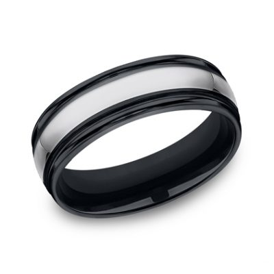 7MM COMFORT FIT TUNGSTEN BAND RECF77864CMTG 400x400 - 7MM COMFORT-FIT TUNGSTEN BAND RECF77864CMTG