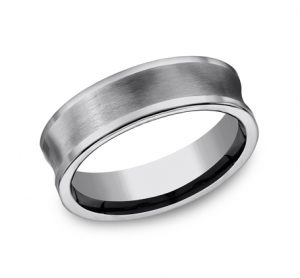 7MM CONCAVED TUNGSTEN BAND CF67001TG 300x278 - 7MM CONCAVED TUNGSTEN BAND CF67001TG