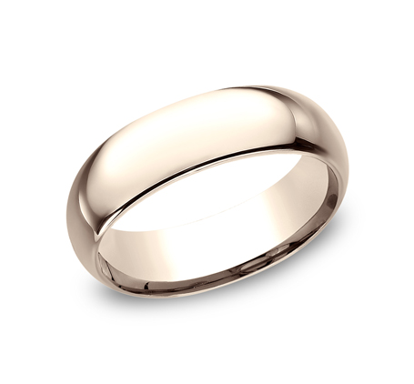 7MM ROSE GOLD BEAUTIFUL BAND LCF170R - 7MM ROSE GOLD BEAUTIFUL BAND LCF170R