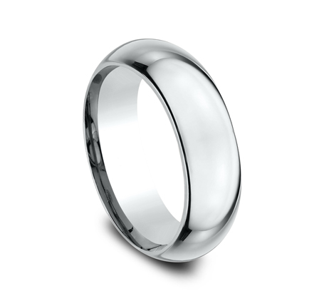 7MM WHITE GOLD BAND HDCF170W 1 - 7MM WHITE GOLD BAND HDCF170W