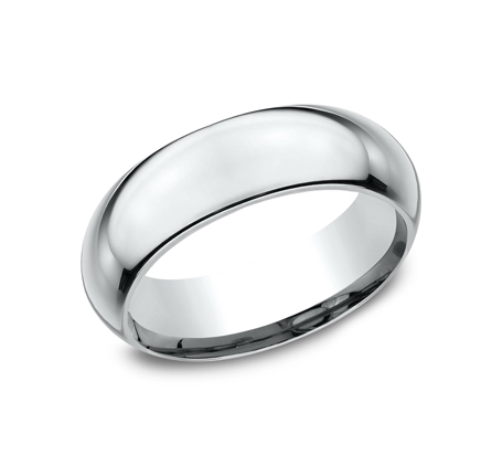 7MM WHITE GOLD BAND HDCF170W - 7MM WHITE GOLD BAND HDCF170W