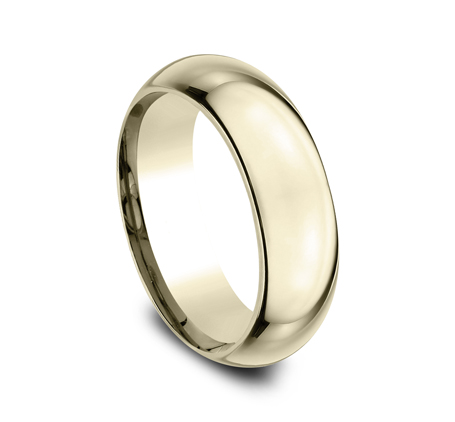 7MM YELLOW GOLD BAND HDCF170Y 1 - 7MM YELLOW GOLD BAND HDCF170Y