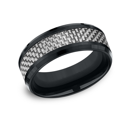8MM BLACKENED COBALT BAND CF68901CFCC - 8MM BLACKENED COBALT BAND CF68901CFCC