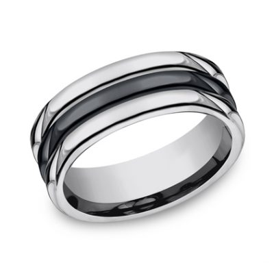 8MM COMFORT FIT TUNGSTEN BAND RECF78862CMTG 400x400 - 8MM COMFORT-FIT TUNGSTEN BAND RECF78862CMTG