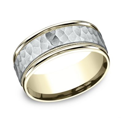 8MM TWO TONED CARVED DESIGN BAND CF158308 400x400 - 8MM TWO-TONED CARVED DESIGN BAND CF158308