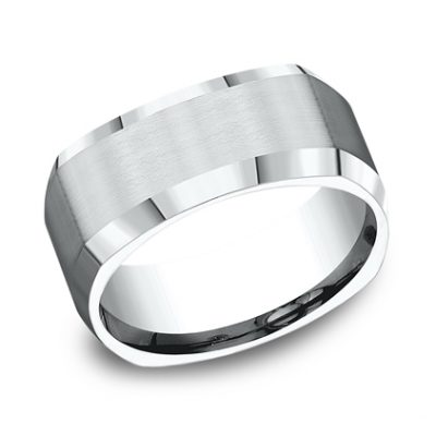 9MM ARGENTIUM SILVER COMFORT FIT BAND CF89600SV 400x400 - 9MM ARGENTIUM SILVER COMFORT-FIT BAND CF89600SV