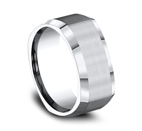 9MM COBALT COMFORT FIT FOUR SIDED BAND CF69480CC 1 - 9MM COBALT COMFORT-FIT FOUR-SIDED BAND CF69480CC