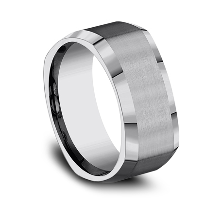 9MM COMFORT FIT TUNGSTEN BAND CF69480TG 1 - 9MM COMFORT-FIT TUNGSTEN BAND CF69480TG