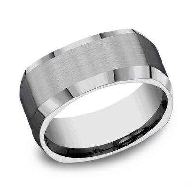 9MM COMFORT FIT TUNGSTEN BAND CF69480TG 400x400 - 9MM COMFORT-FIT TUNGSTEN BAND CF69480TG