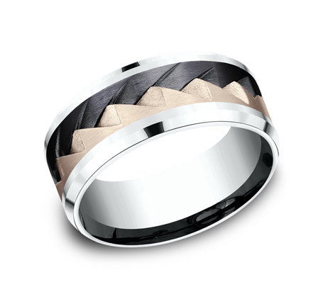 9MM MULTI MATERIAL BAND CF5079762BKTRW - 9MM MULTI-MATERIAL BAND CF5079762BKTRW