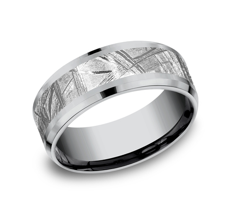 GREY TANTALUM DESIGN BAND - GREY TANTALUM DESIGN BAND CF128843MTGTA