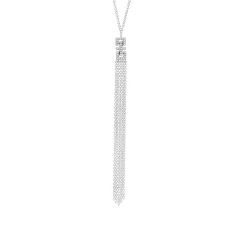 0.07ct 14k White Gold Diamond Fringe Pendant SC55003651 500x500 - 0.07ct 14k White Gold Diamond Fringe Pendant SC55003651