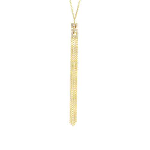0.07ct 14k Yellow Gold Diamond Fringe Pendant SC55003652 500x500 - 0.07ct 14k Yellow Gold Diamond Fringe Pendant SC55003652