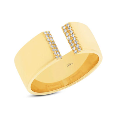0.10ct 14k Yellow Gold Diamond Ladys Ring SC55002861 400x400 - 0.10ct 14k Yellow Gold Diamond Lady's Ring SC55002861