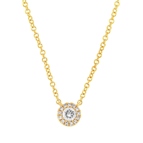 0.14ct 14k Yellow Gold Diamond Pendant SC55002696 500x500 - 0.14ct 14k Yellow Gold Diamond Pendant SC55002696