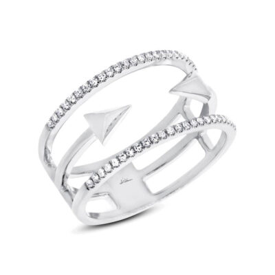 0.15ct 14k White Gold Diamond Ladys Ring SC55002505 400x400 - 0.15ct 14k White Gold Diamond Lady's Ring SC55002505