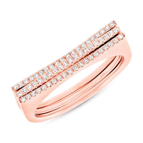 0.18ct 14k Rose Gold Diamond Puzzle Ring 2 pc SC55003435 500x500 - 0.18ct 14k Rose Gold Diamond Puzzle Ring 2-pc SC55003435