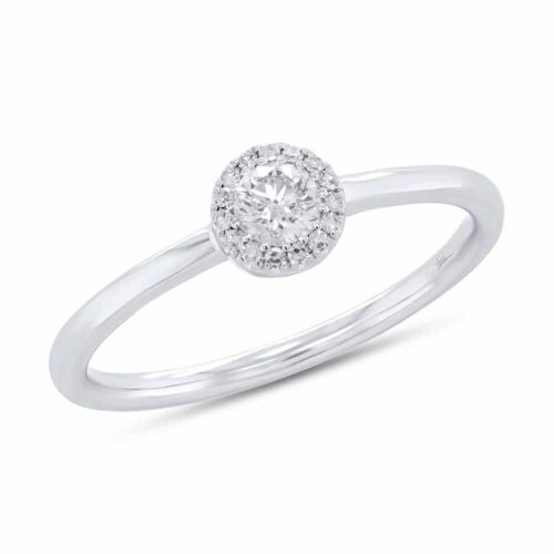 0.20ct Round Brilliant Center and 0.05ct Side 14k White Gold Diamond Ladys Ring SC55007177 500x500 - 0.20ct Round Brilliant Center and 0.05ct Side 14k White Gold Diamond Lady's Ring SC55007177