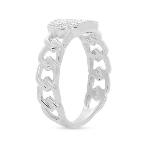 0.22ct 14k White Gold Diamond Pave ID Chain Ring SC36213797 2 500x500 - 0.22ct 14k White Gold Diamond Pave ID Chain Ring SC36213797
