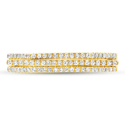 0.22ct 14k Yellow Gold Diamond Puzzle Ring 2 pc SC55003431 1 500x500 - 0.22ct 14k Yellow Gold Diamond Puzzle Ring 2-pc SC55003431